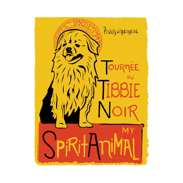 TeePublic: Funny Tibetan Spaniel Cute Dog My Spirit Animal