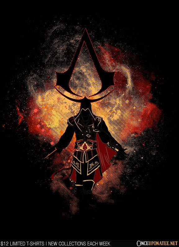 Once Upon a Tee: Assassin Art