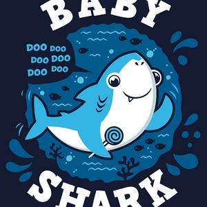 Qwertee: Baby Shark