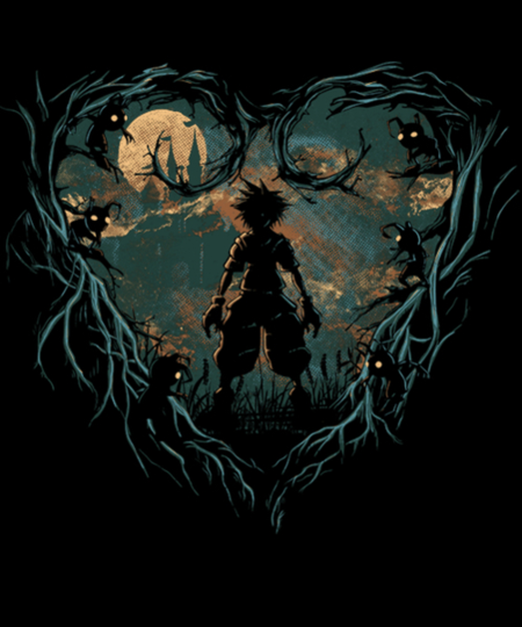 Qwertee: The night's heart