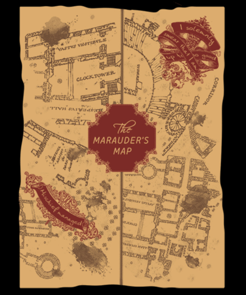 Qwertee: A magical map
