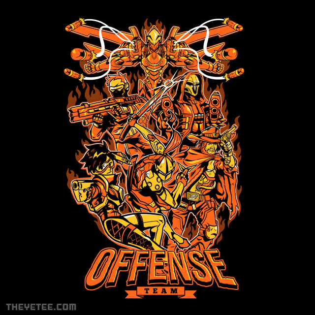 The Yetee: Offense Team