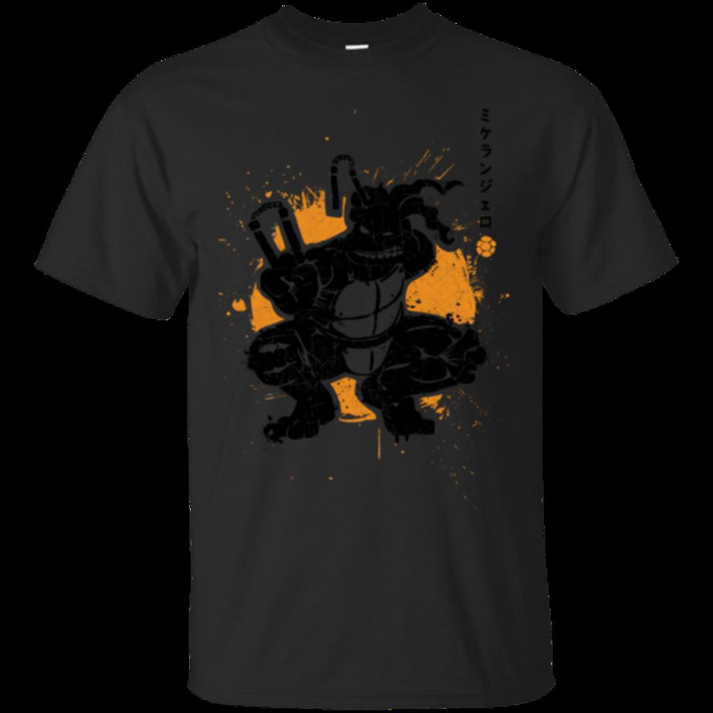 Pop-Up Tee: TMNT - Nunchaku Warrior
