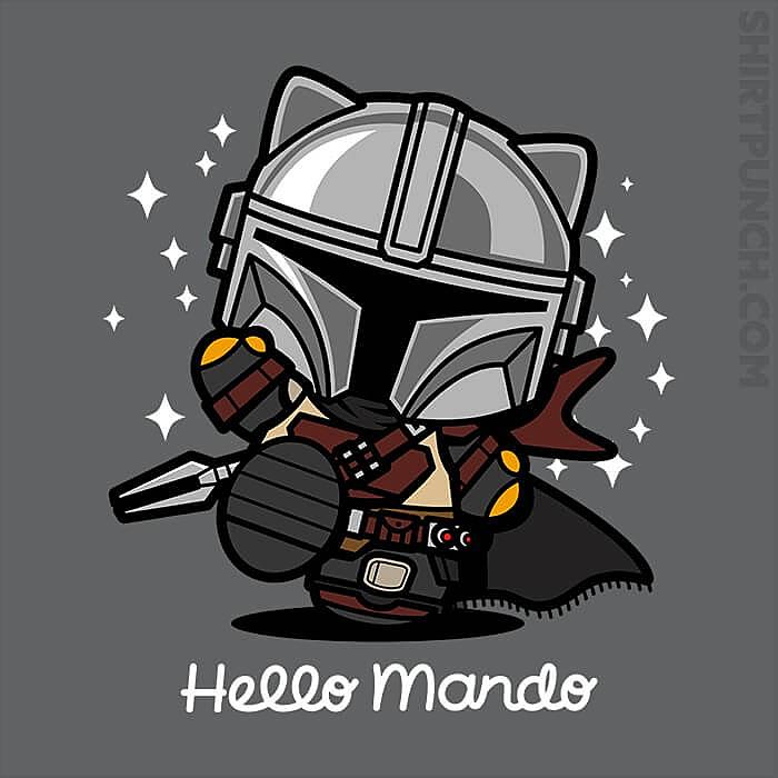 ShirtPunch: Hello Mando