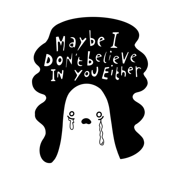 TeePublic: Skeptical Ghost