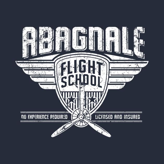 TeePublic: Abagnale Flight School