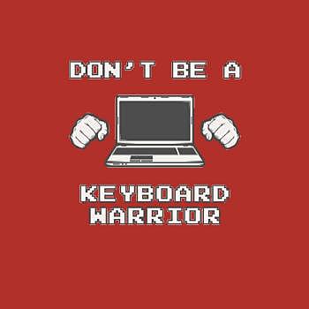 BustedTees: Keyboard Warrior