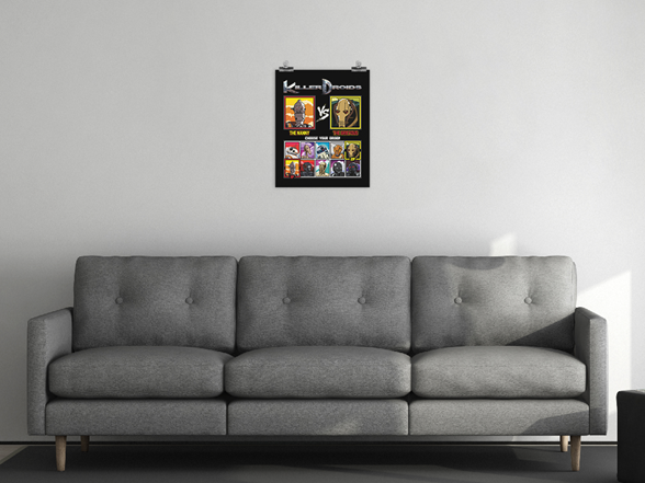 Woot!: Killer Droids Matte Poster