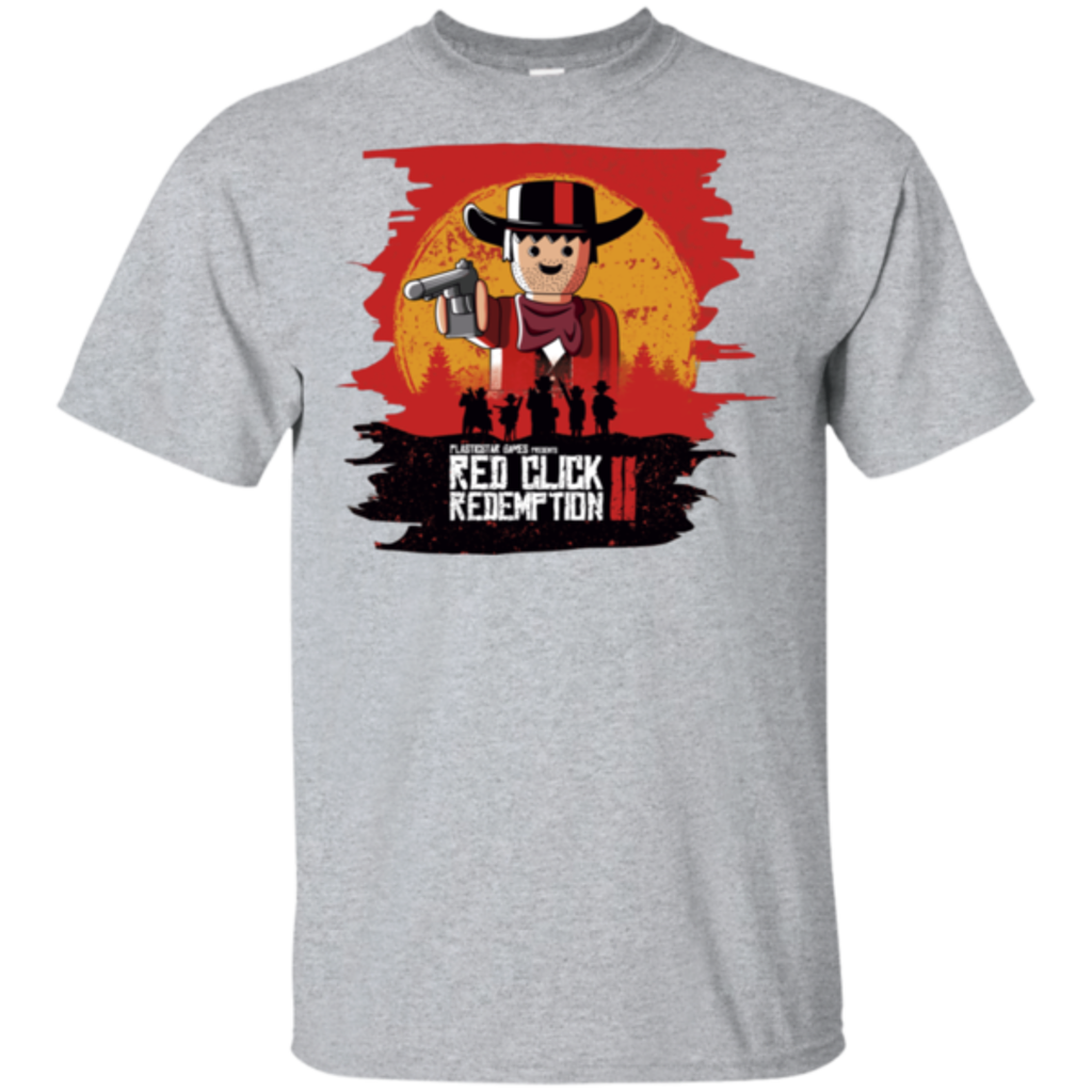 Pop-Up Tee: Red Click Redemption