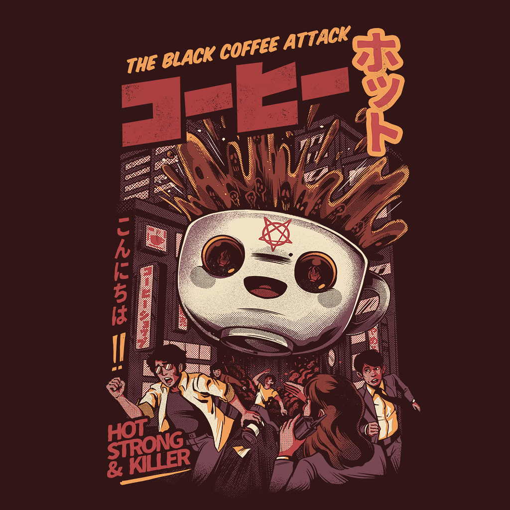 TeeTee: Black magic coffee