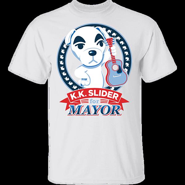 Pop-Up Tee: Elect Mayor Slider