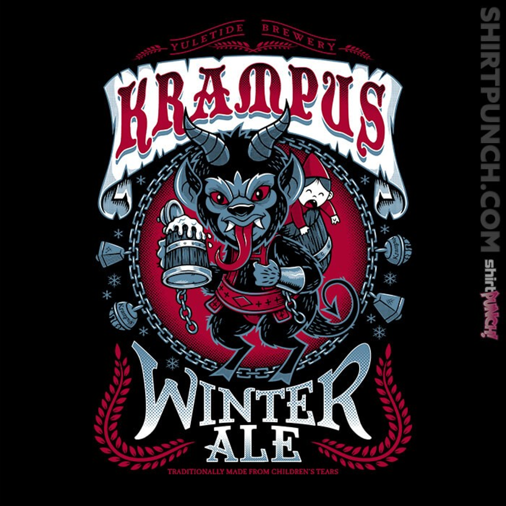 ShirtPunch: Krampus Winter Ale