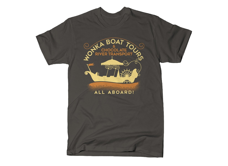 SnorgTees: Wonka Boat Tours