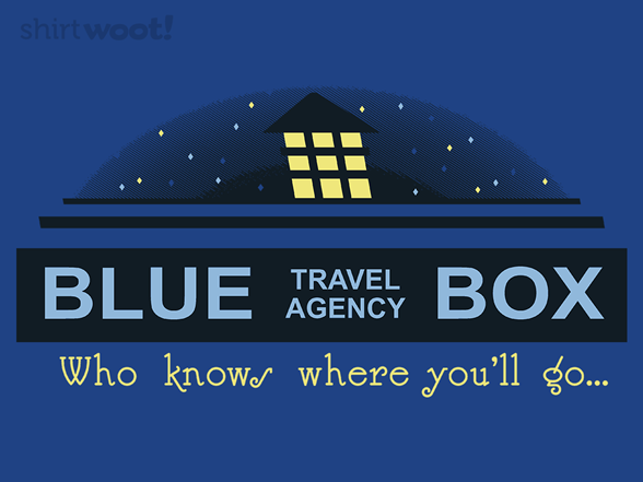 Woot!: Blue Box Travel Agency