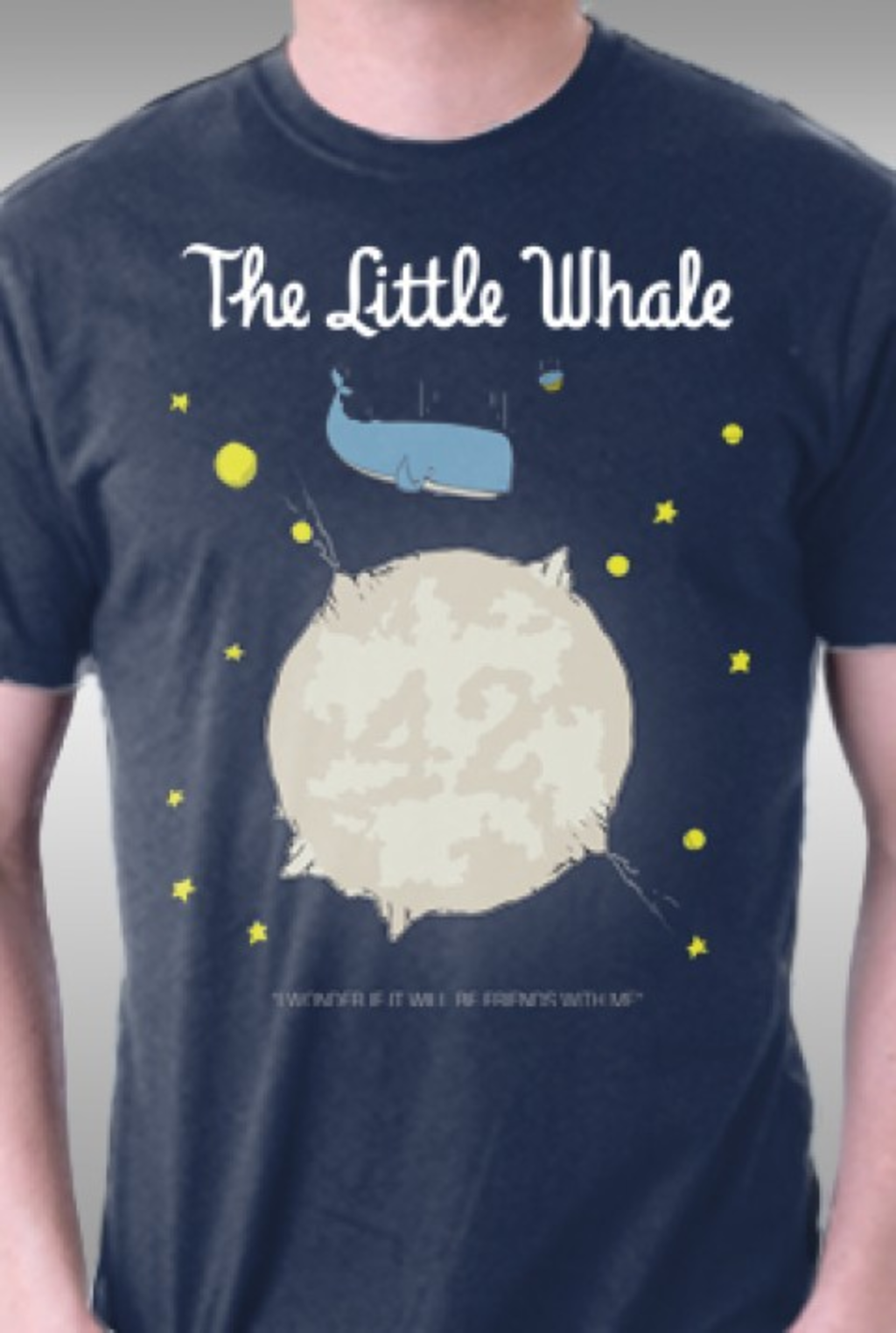 TeeFury: The Little Whale