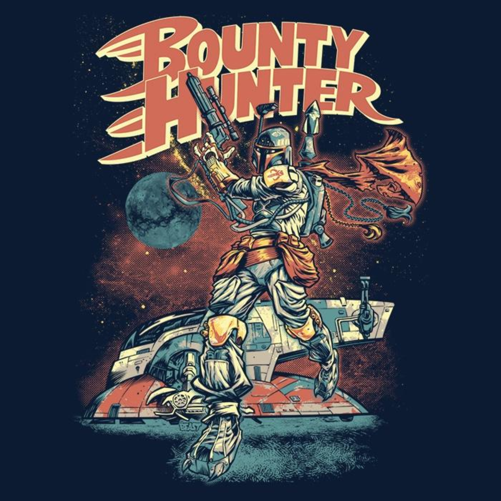 Once Upon a Tee: Bounty Hunter