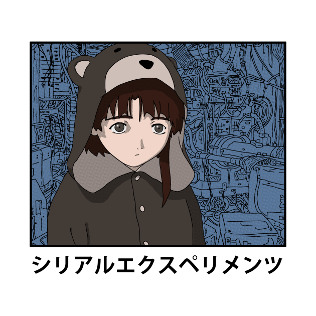 TeePublic: Serial Experiments Lain
