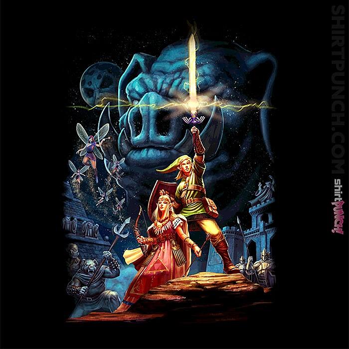 ShirtPunch: Link Wars Reprint