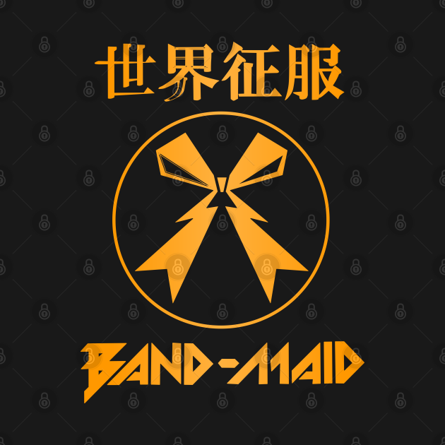 TeePublic: Band maid roses