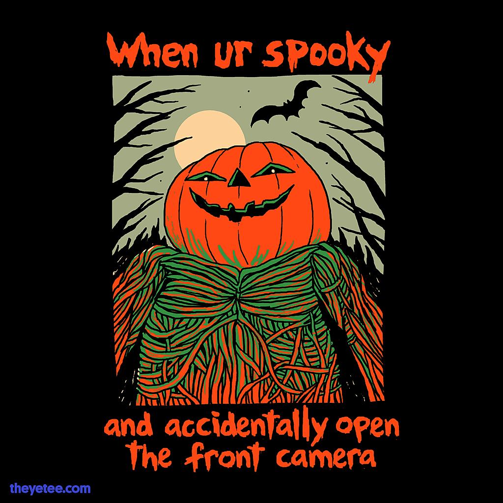 The Yetee: Spooky Selfie