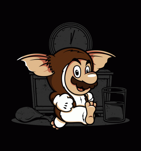 BustedTees: It's-a Me Gizmo