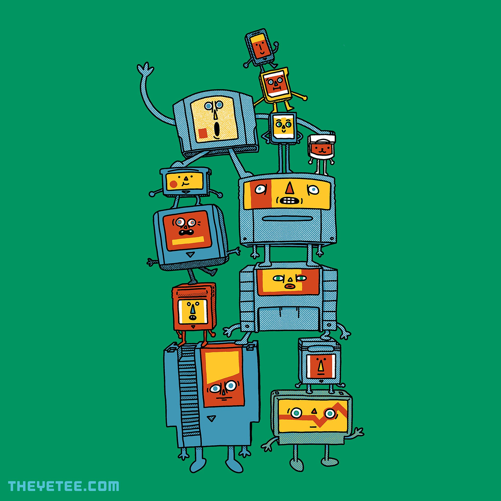 The Yetee: The Cartridge Family