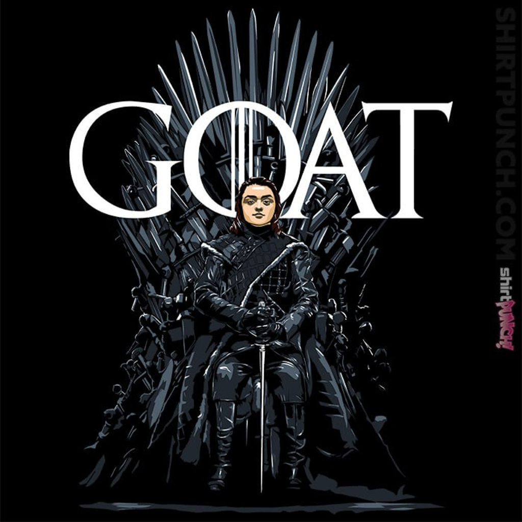 ShirtPunch: Arya Greatest Of All Time