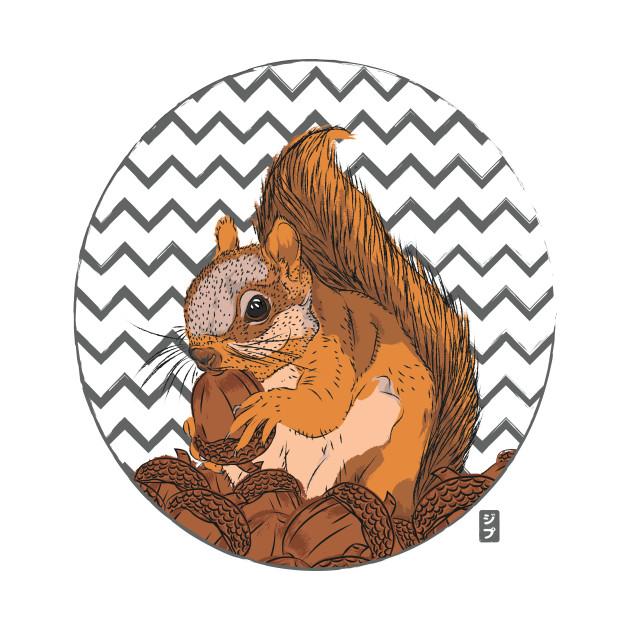 TeePublic: Squirrel Love T-Shirt