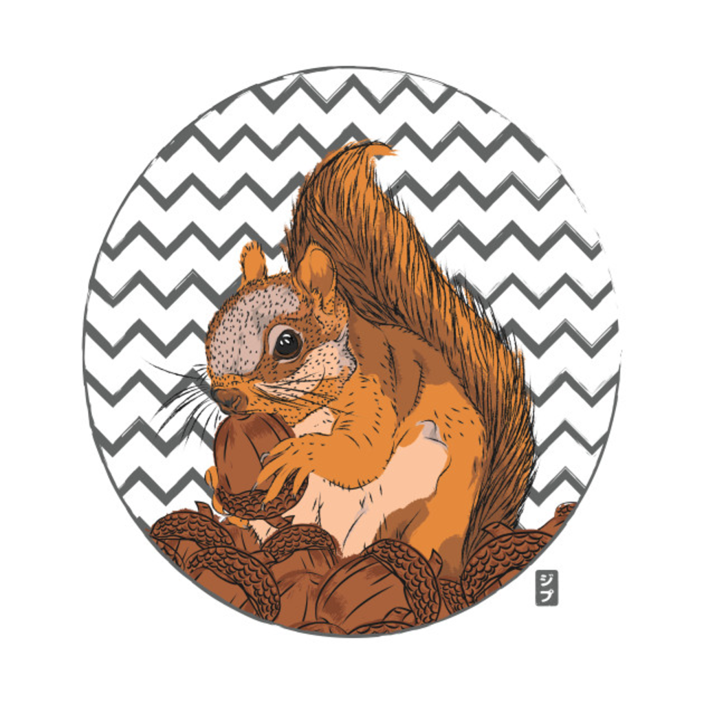 TeePublic: Squirrel Love T-Shirt