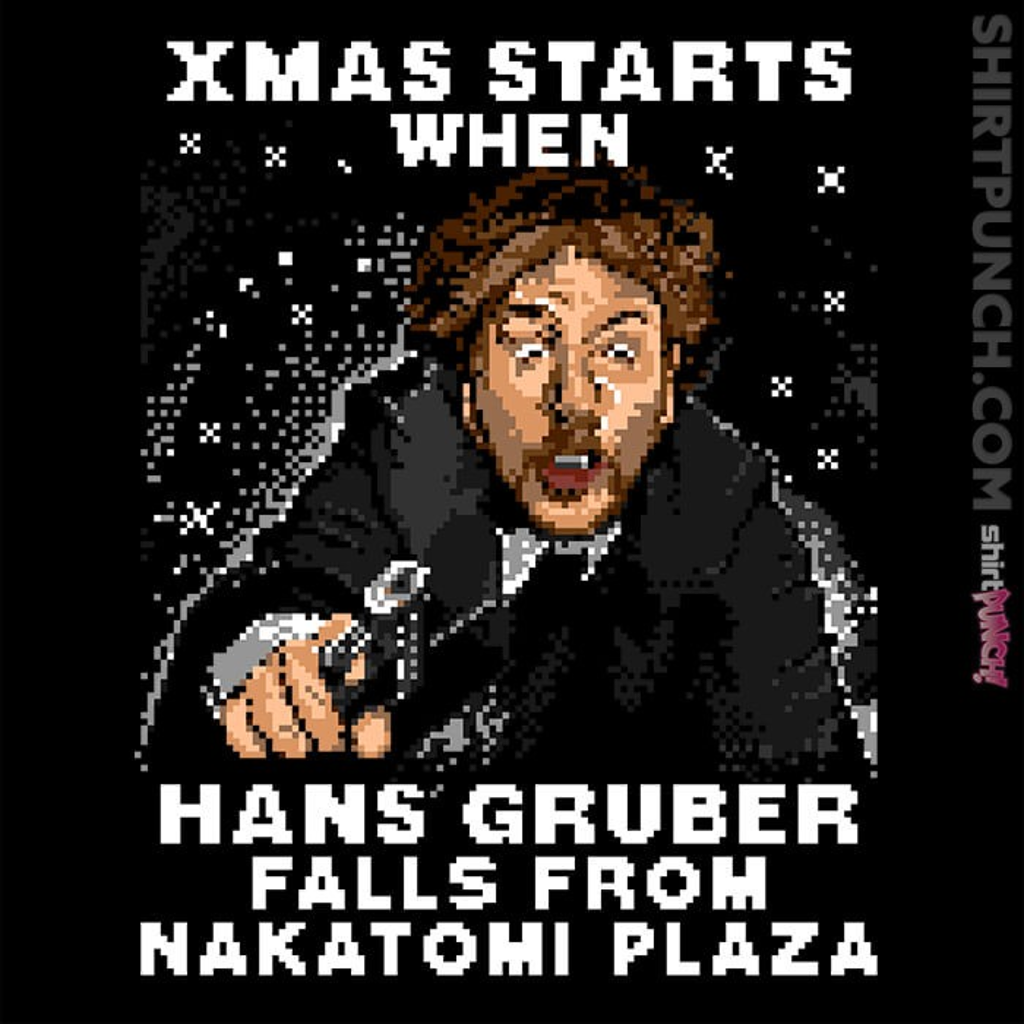 ShirtPunch: Hans Gruber Ugly Sweater