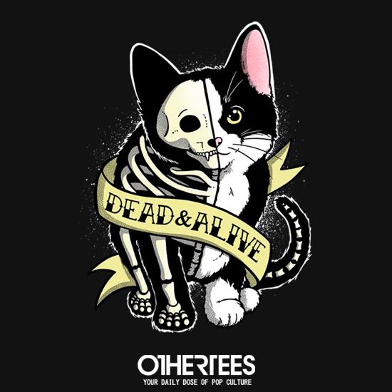 OtherTees: Schrodinger cat tattoo