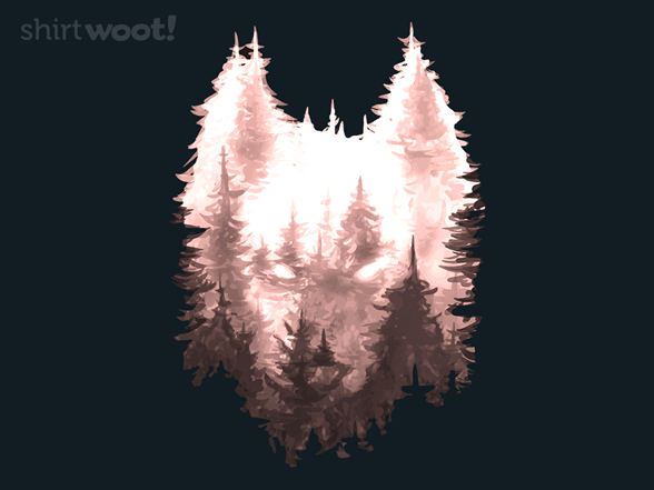 Woot!: Wolf forest - $8.00 + $5 standard shipping