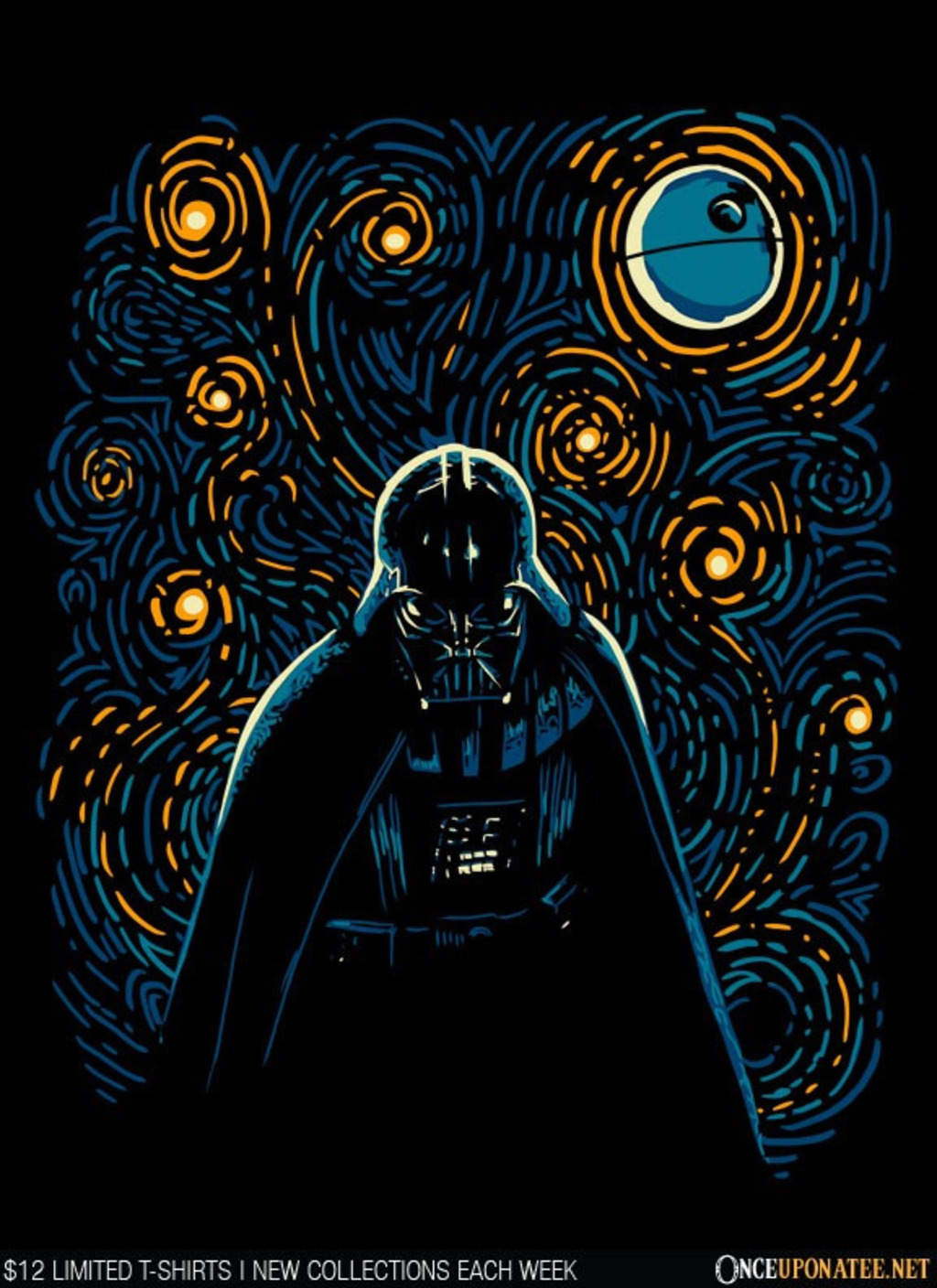 Once Upon a Tee: Starry Dark Side
