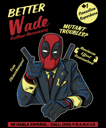 Qwertee: Better call wade