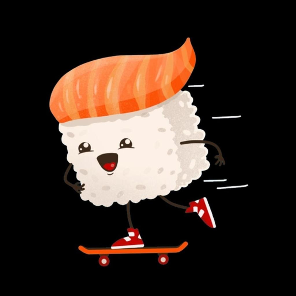 BustedTees: Sushi Skater