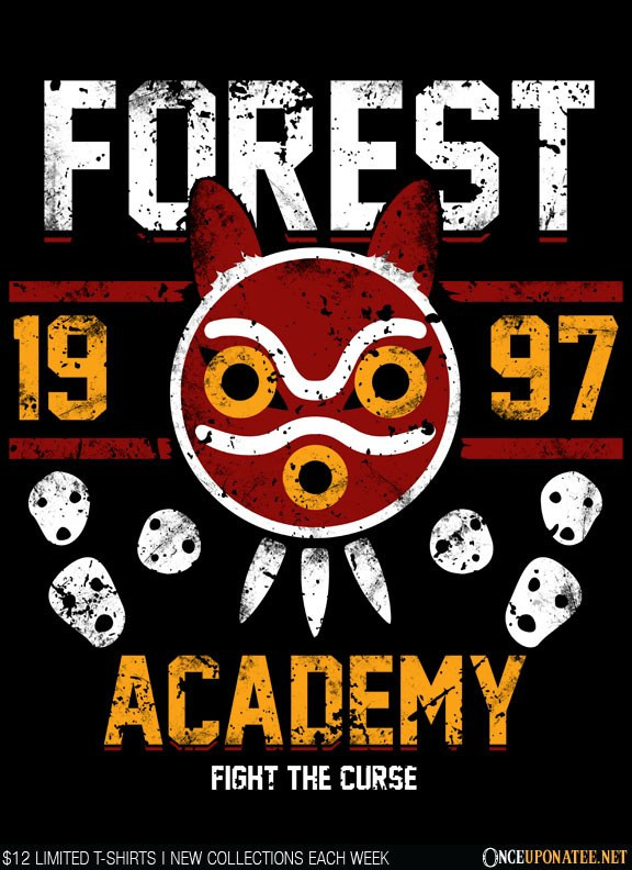 Once Upon a Tee: Forest Academy
