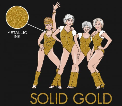 TeeFury: Solid Gold - Exclusive Variant