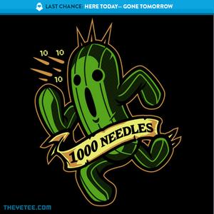 The Yetee: LAST CHANCE: 1000 Needles