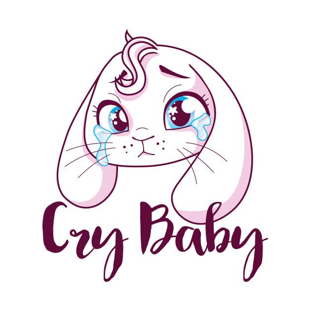 TeePublic: Cry Baby Bunny