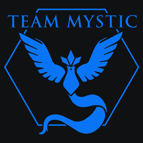Textual Tees: Team Mystic