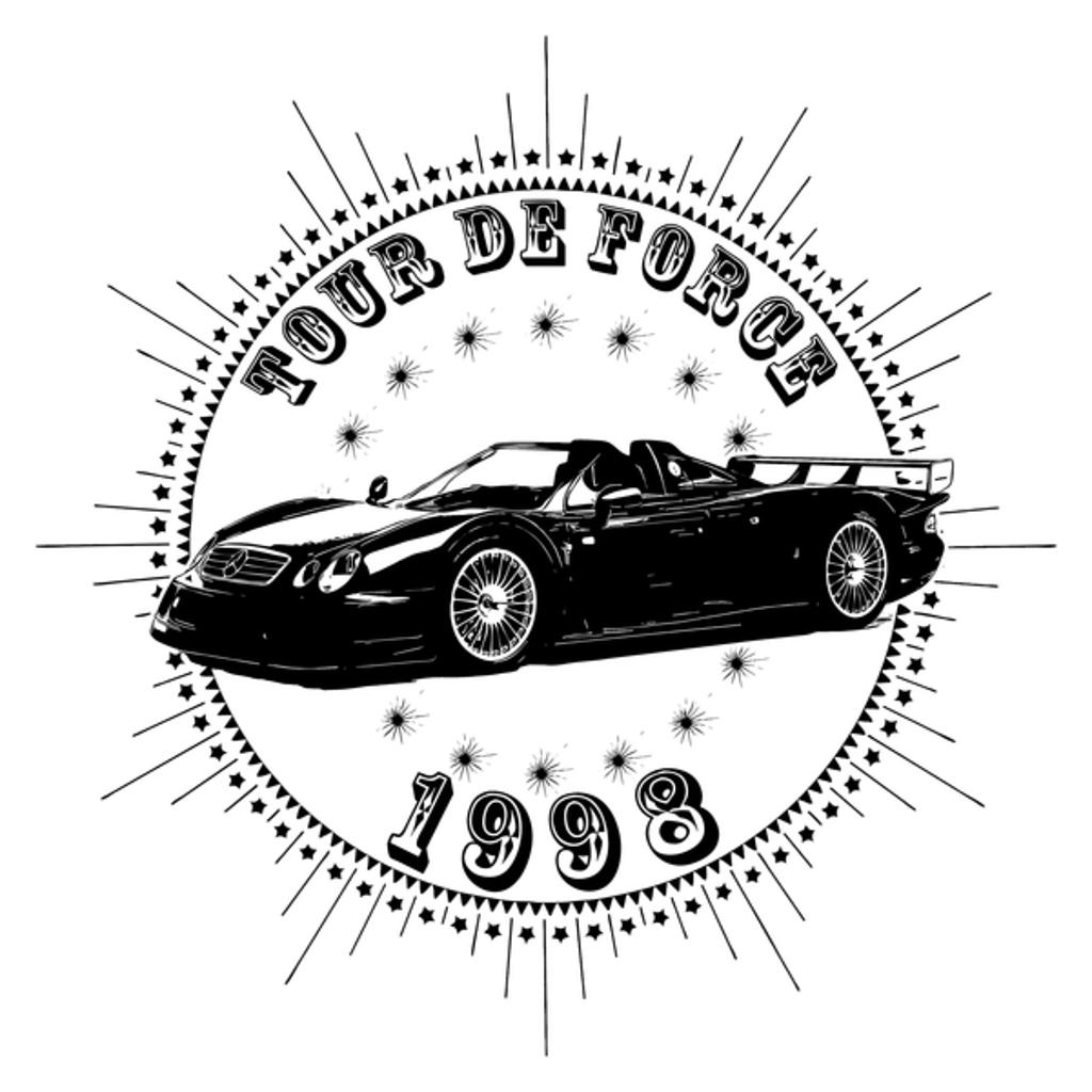 NeatoShop: Vintage Classic Car 1998 Tour De Force Merc
