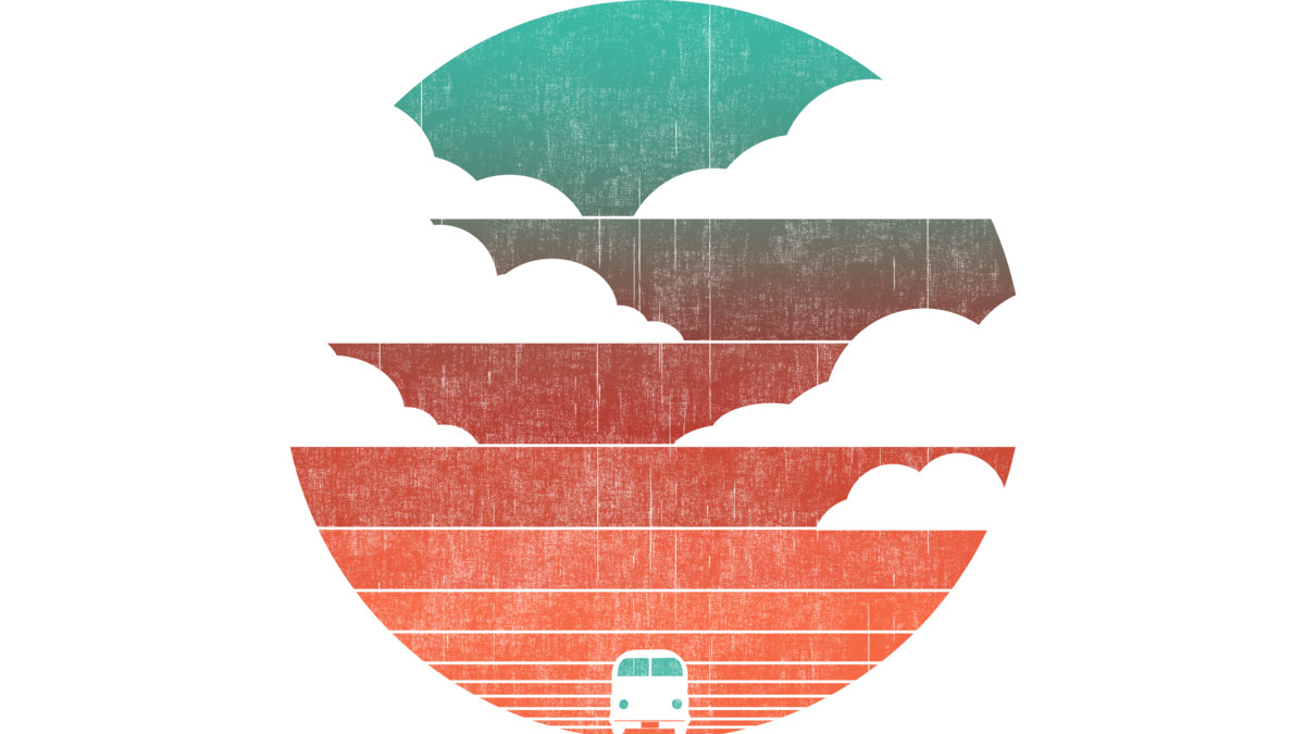 Design by Humans: Driving into the sunset