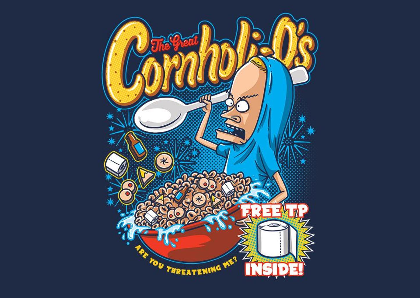 TeeFury: Cornholio's