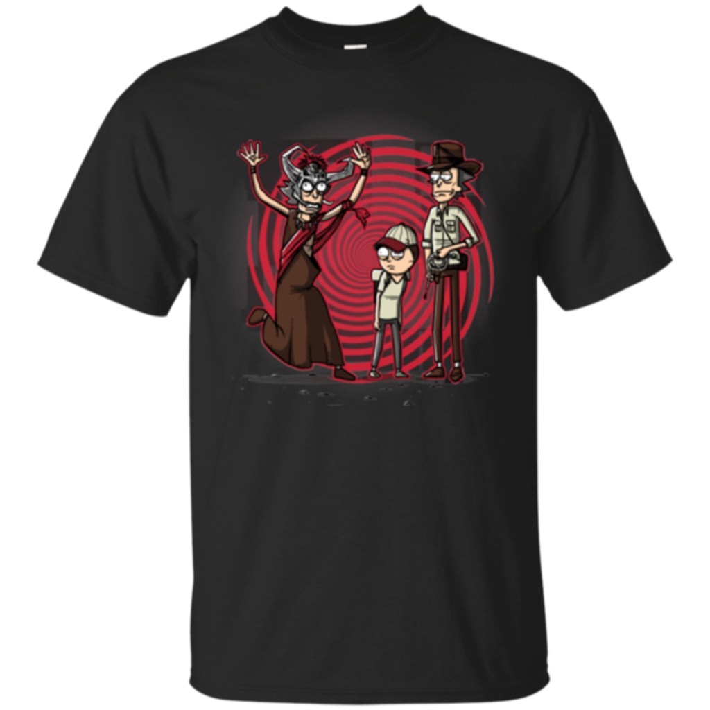 Pop-Up Tee: Temple Of The Dumb