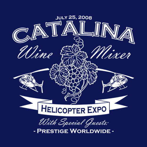 Five Finger Tees: Catalina Wine Mixer