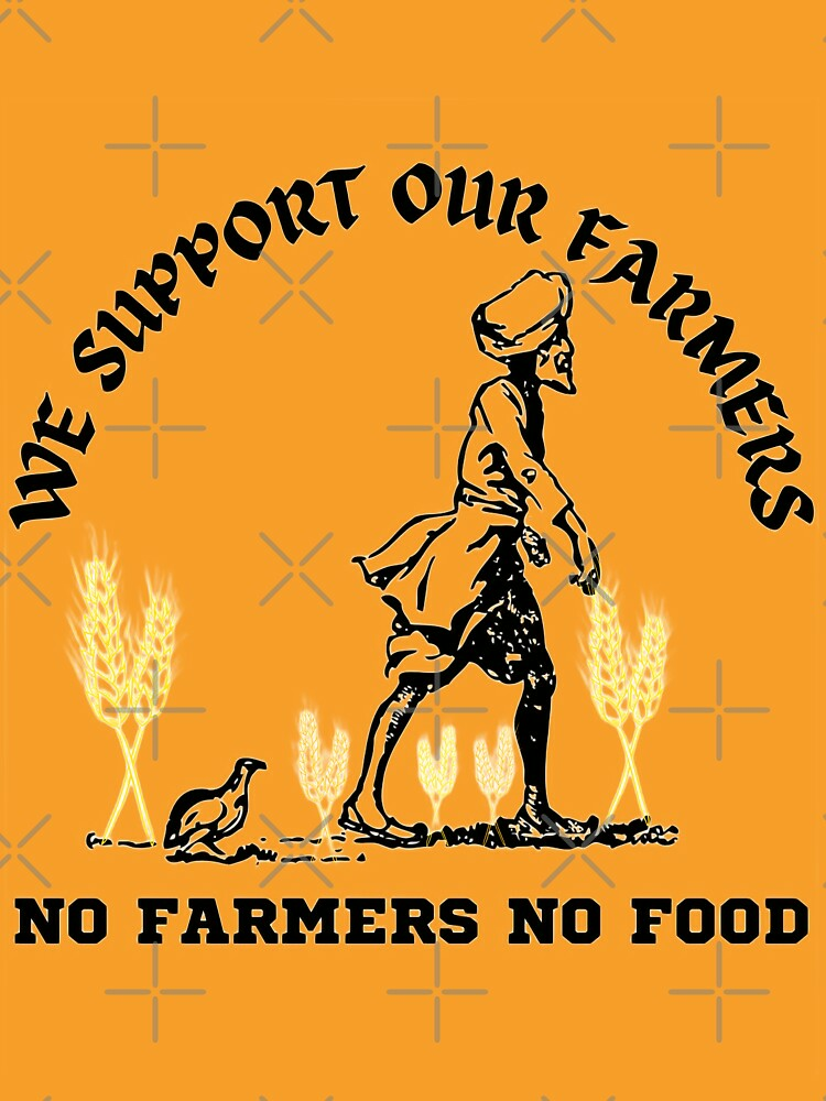 RedBubble: We Support Our Farmers No Farmers No Food
