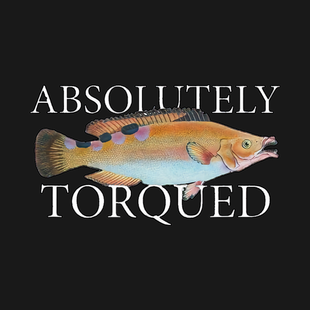 TeePublic: Absolutely Torqued Fish
