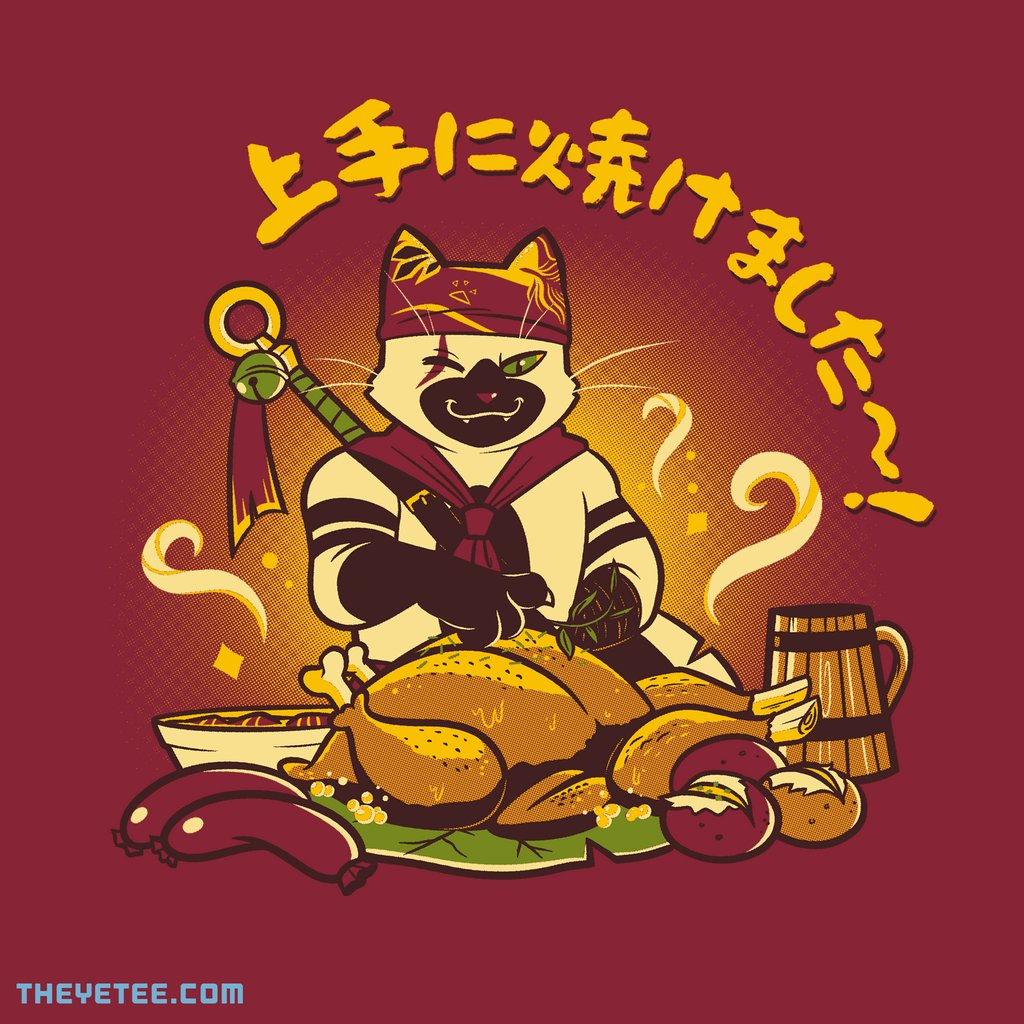 The Yetee: The Purrfect Touch!