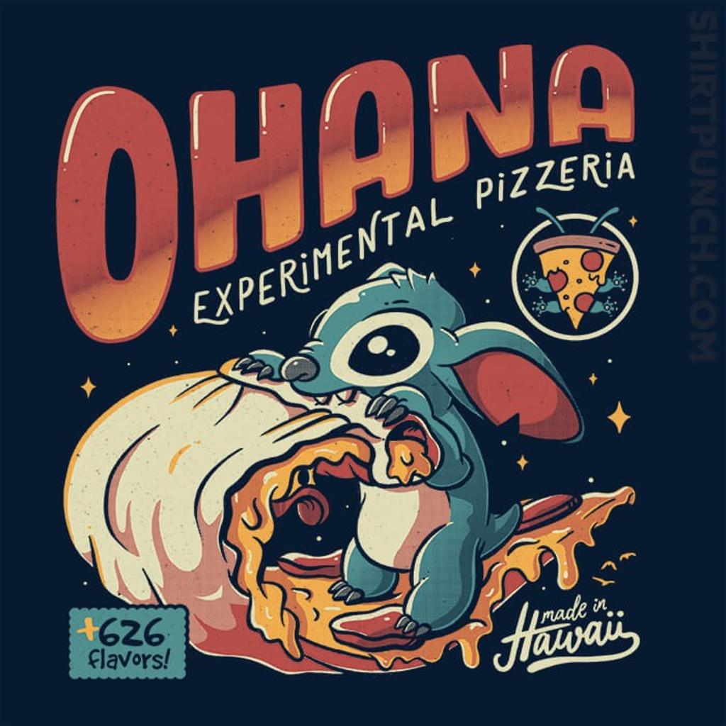 ShirtPunch: Ohana Pizzeria