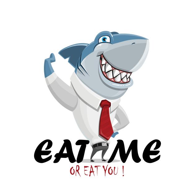 TeePublic: Shark eat me or eat you
